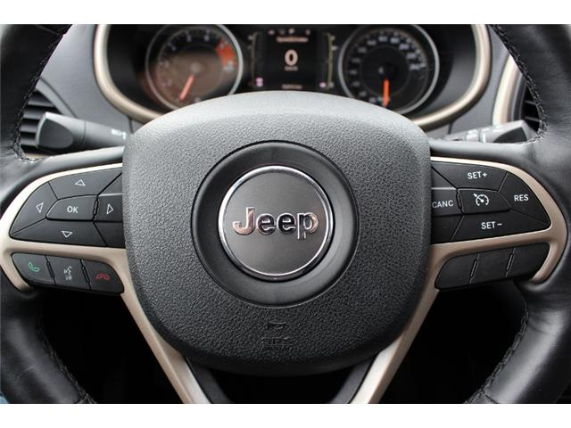 2016 Jeep Cherokee North (Stk: D0080) in Leamington - Image 17 of 28