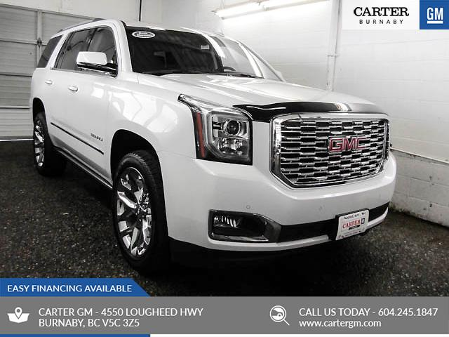 2019 Gmc Yukon Denali 4x4 Heated Leather Seats Wooden