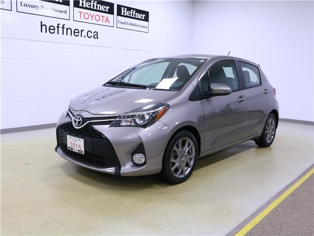 2015 Toyota Yaris SE (Stk: 195326) in Kitchener - Image 1 of 27