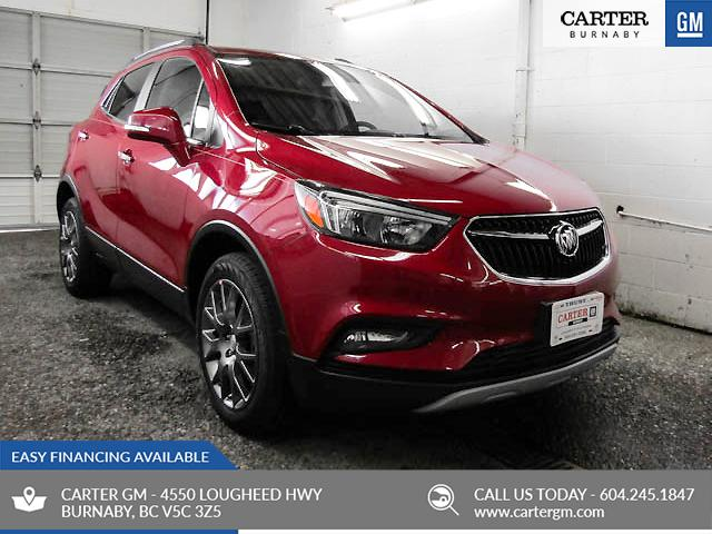 2019 Buick Encore Sport Touring (Stk: E9-36830) in Burnaby - Image 1 of 12