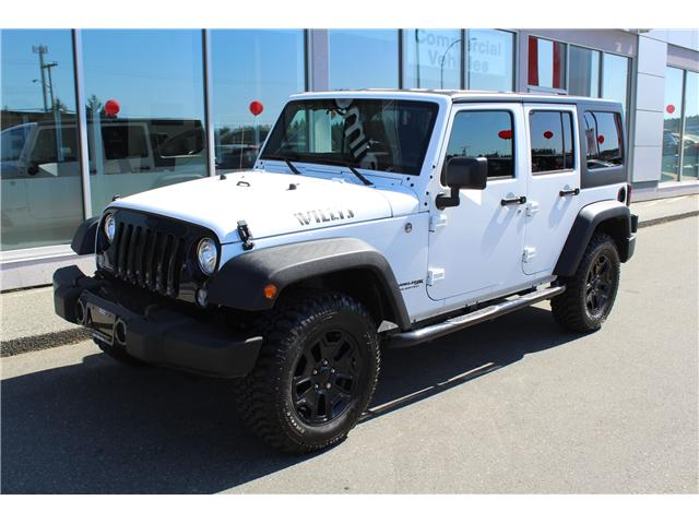 2018 Jeep Wrangler JK Unlimited Sport (Stk: P0166) in Nanaimo - Image 1 of 9