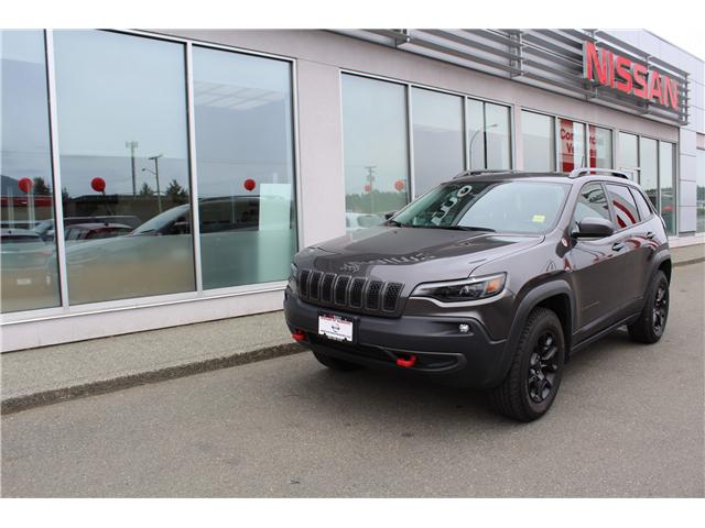 2019 Jeep Cherokee Trailhawk (Stk: 8A4206A) in Nanaimo - Image 1 of 9