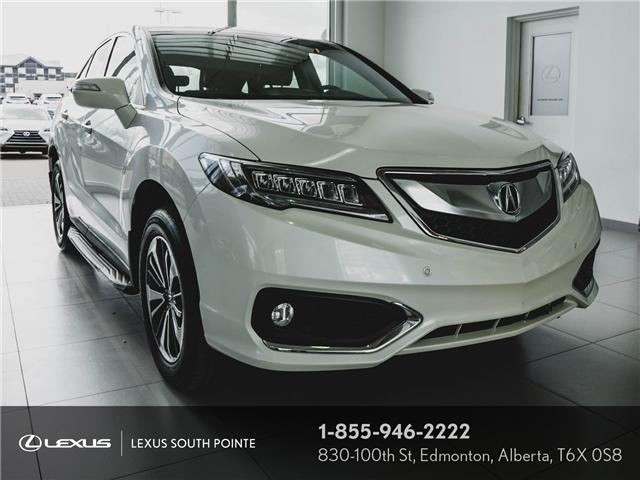 2016 Acura RDX Base (Stk: L9D0589A) in Edmonton - Image 1 of 11