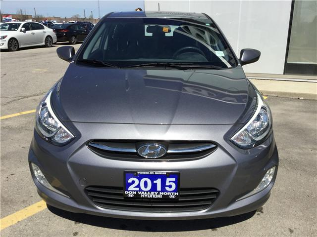 2015 Hyundai Accent SE (Stk: 7708H) in Markham - Image 2 of 15