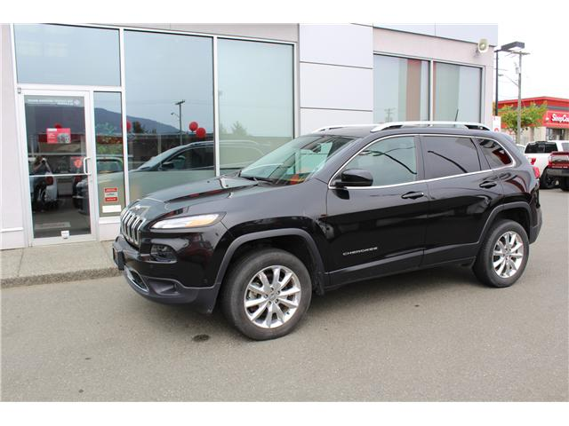2016 Jeep Cherokee Limited (Stk: 9K3513A) in Nanaimo - Image 1 of 9