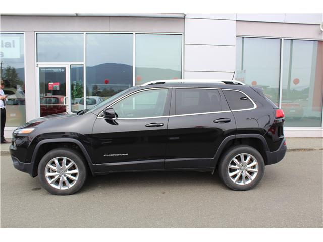 2016 Jeep Cherokee Limited (Stk: 9K3513A) in Nanaimo - Image 2 of 9