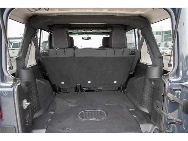 2016 Jeep Wrangler Unlimited Sahara (Stk: K559796AA) in Surrey - Image 7 of 26