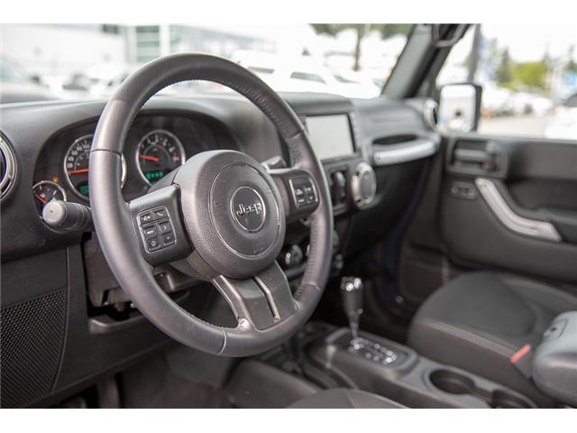 2016 Jeep Wrangler Unlimited Sahara (Stk: K559796AA) in Surrey - Image 10 of 26