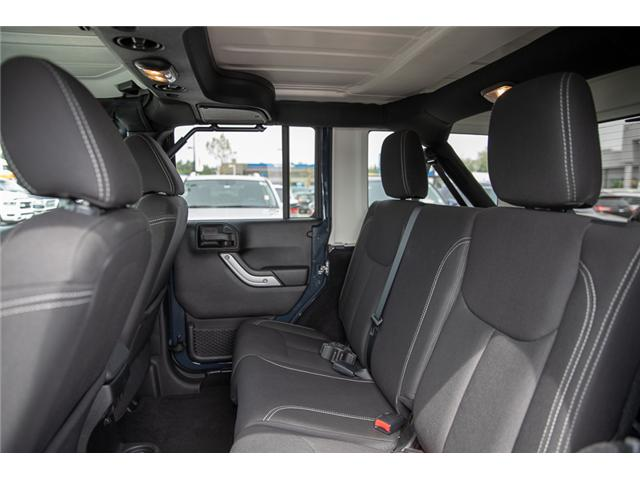 2016 Jeep Wrangler Unlimited Sahara (Stk: K559796AA) in Surrey - Image 11 of 26