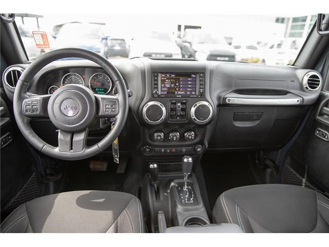 2016 Jeep Wrangler Unlimited Sahara (Stk: K559796AA) in Surrey - Image 13 of 26