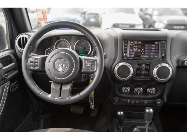 2016 Jeep Wrangler Unlimited Sahara (Stk: K559796AA) in Surrey - Image 14 of 26