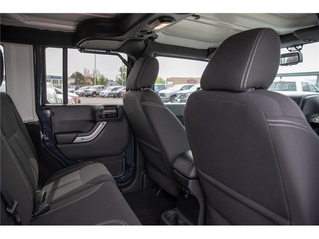 2016 Jeep Wrangler Unlimited Sahara (Stk: K559796AA) in Surrey - Image 16 of 26