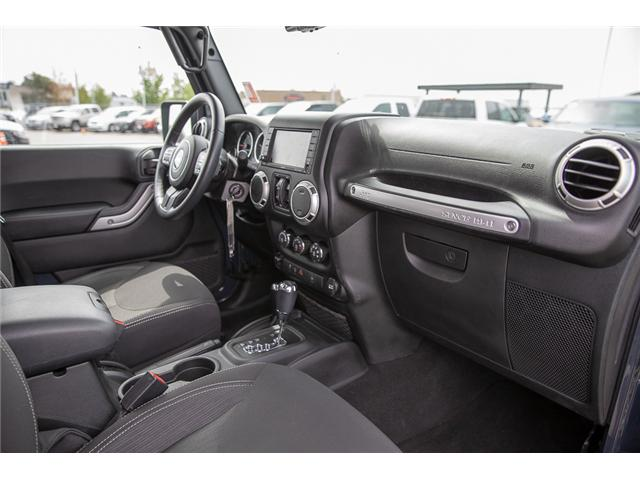 2016 Jeep Wrangler Unlimited Sahara (Stk: K559796AA) in Surrey - Image 17 of 26