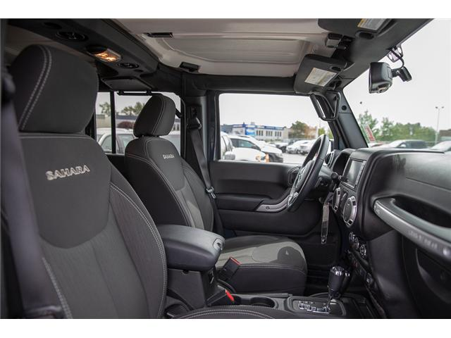 2016 Jeep Wrangler Unlimited Sahara (Stk: K559796AA) in Surrey - Image 18 of 26