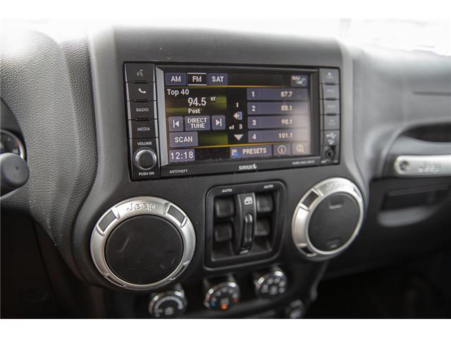 2016 Jeep Wrangler Unlimited Sahara (Stk: K559796AA) in Surrey - Image 22 of 26
