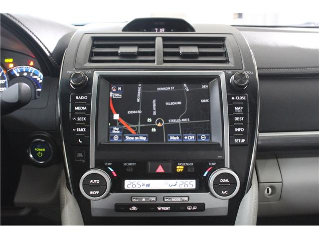 2012 Toyota Camry Hybrid XLE (Stk: 298112S) in Markham - Image 13 of 24