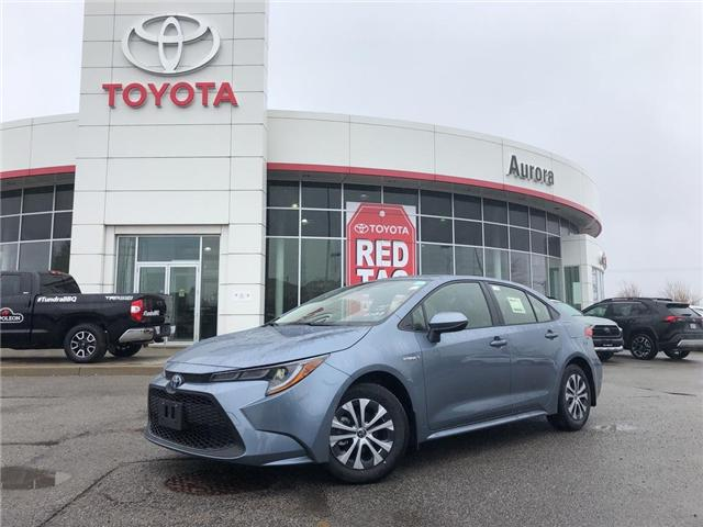 2020 Toyota Corolla Hybrid Base (Stk: 30906) in Aurora - Image 1 of 15