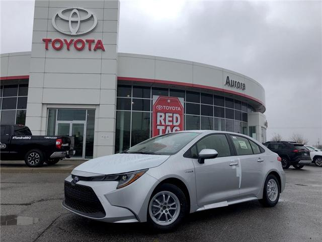 2020 Toyota Corolla Hybrid Base (Stk: 30921) in Aurora - Image 1 of 15