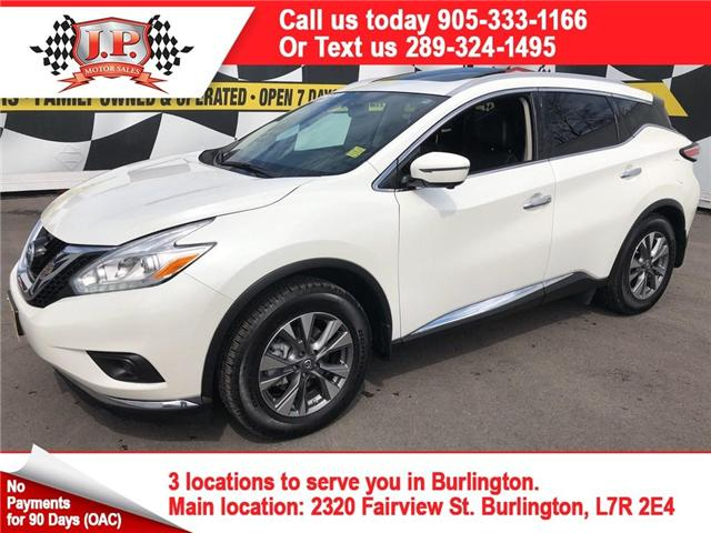 2017 Nissan Murano SL (Stk: 46822r) in Burlington - Image 1 of 25