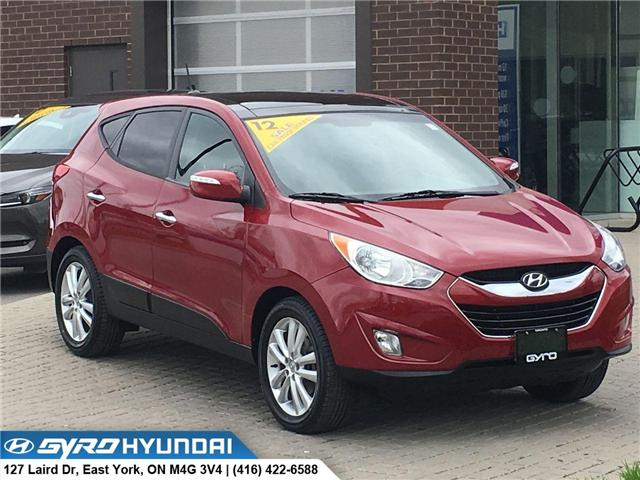 2012 Hyundai Tucson Limited (Stk: H4855A) in Toronto - Image 1 of 29