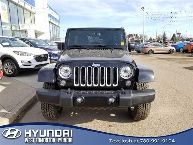 2017 Jeep Wrangler Unlimited Sahara (Stk: E4422) in Edmonton - Image 2 of 24