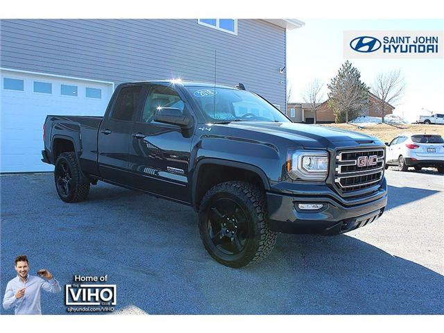 2018 GMC Sierra 1500 Base (Stk: U2102) in Saint John - Image 1 of 16