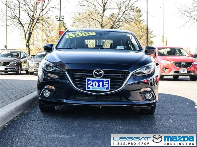 2015 Mazda Mazda3 GT - LEATHER, BOSE, HEADS UP DISPLAY (Stk: 196093A) in Burlington - Image 2 of 23