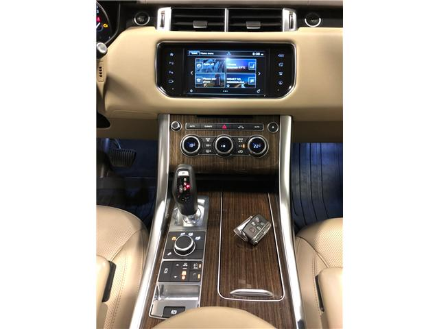 2016 Land Rover Range Rover Sport DIESEL Td6 HSE (Stk: B0306) in Mississauga - Image 12 of 28