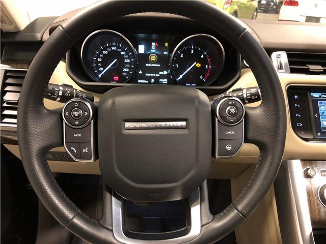 2016 Land Rover Range Rover Sport DIESEL Td6 HSE (Stk: B0306) in Mississauga - Image 11 of 28