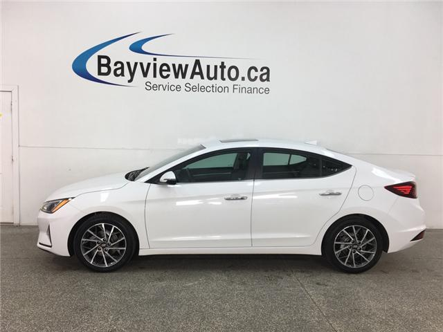 2019 Hyundai Elantra Luxury (Stk: 34901EW) in Belleville - Image 1 of 28