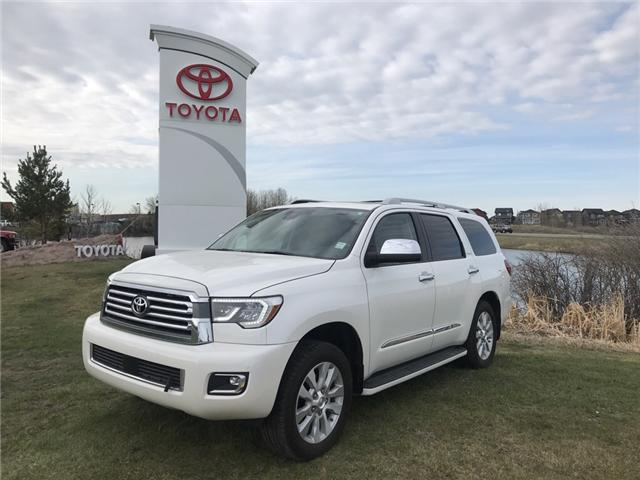 2018 Toyota Sequoia Platinum 5.7L V8 (Stk: 2810) in Cochrane - Image 1 of 25
