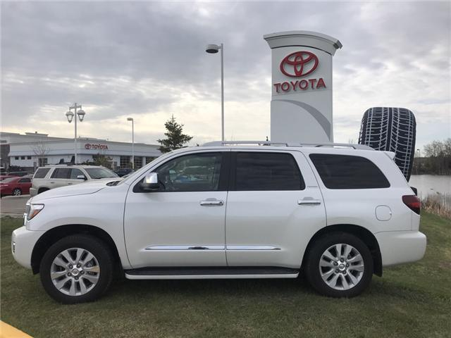 2018 Toyota Sequoia Platinum 5.7L V8 (Stk: 2810) in Cochrane - Image 2 of 25