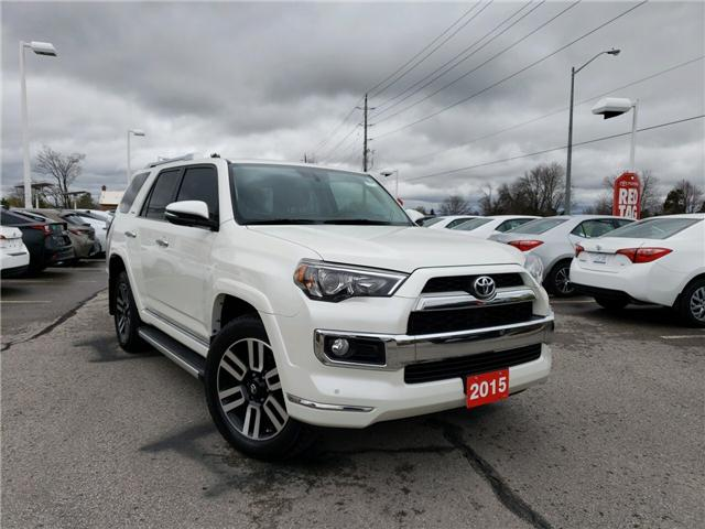 2015 Toyota 4Runner  (Stk: P1809) in Whitchurch-Stouffville - Image 4 of 19