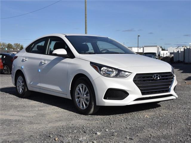 2019 Hyundai Accent Preferred (Stk: R95164) in Ottawa - Image 1 of 9