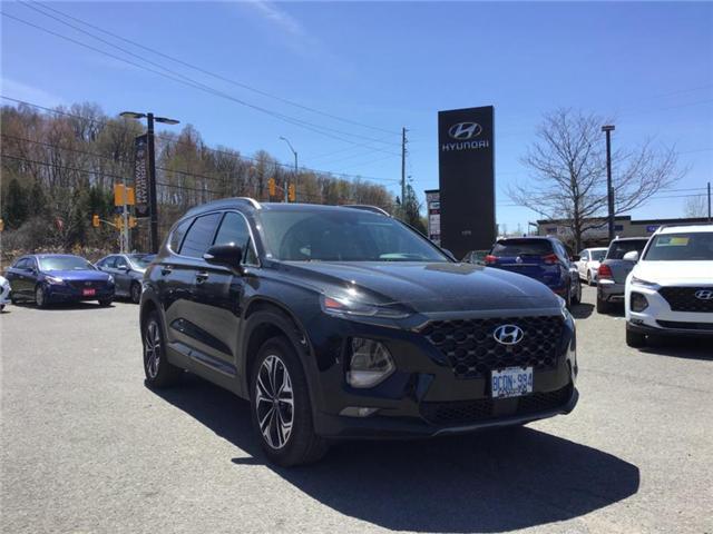 2019 Hyundai Santa Fe Ultimate 2.0 (Stk: DR95222) in Ottawa - Image 1 of 9
