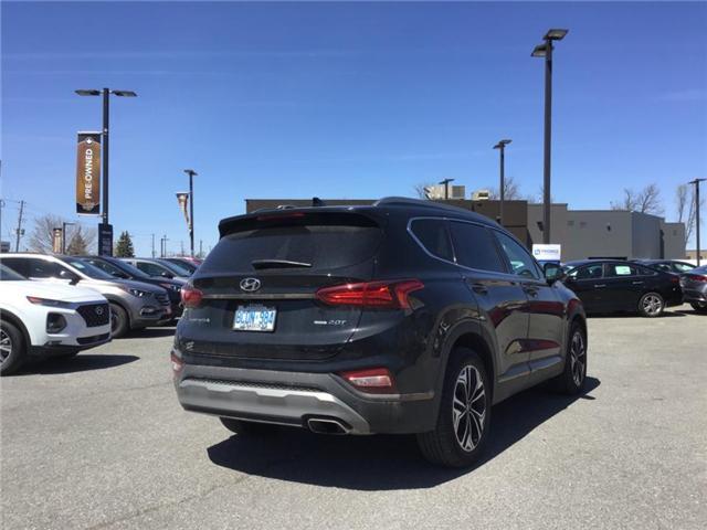 2019 Hyundai Santa Fe Ultimate 2.0 (Stk: DR95222) in Ottawa - Image 4 of 9