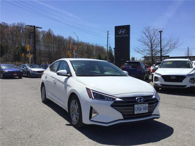 2019 Hyundai Elantra Preferred (Stk: DR95461) in Ottawa - Image 1 of 10