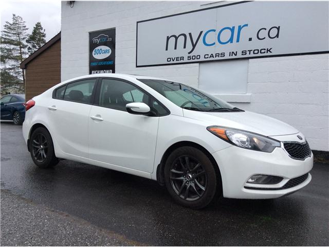 2015 Kia Forte 1.8L LX+ (Stk: 190199) in North Bay - Image 1 of 20