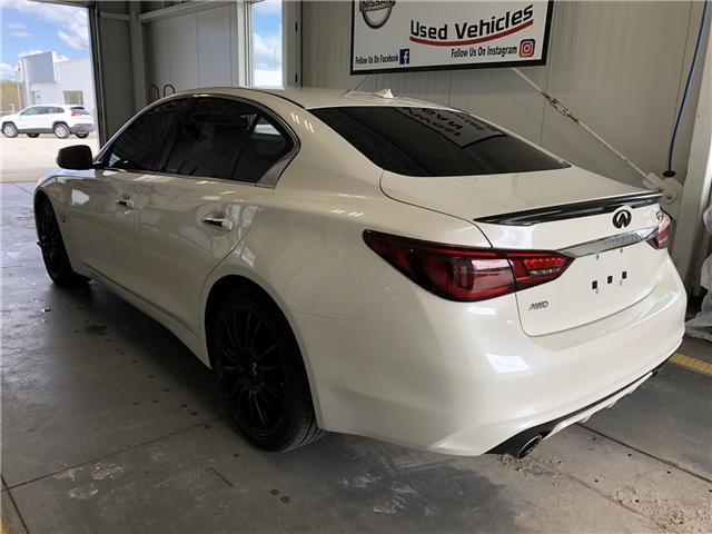 2019 Infiniti Q50 3.0t I-LINE RED SPORT (Stk: P100) in Owen Sound - Image 3 of 9