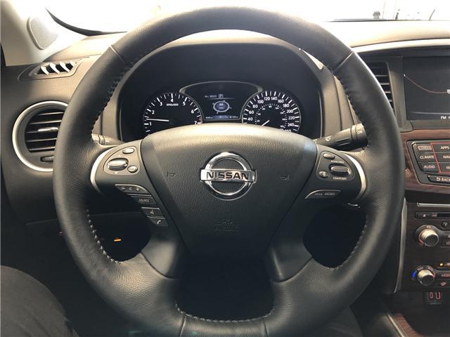 2019 Nissan Pathfinder Platinum (Stk: P100) in Owen Sound - Image 8 of 11