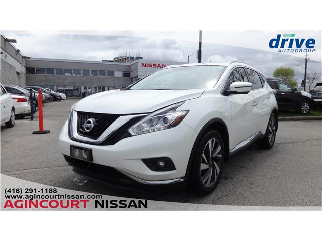 2016 Nissan Murano Platinum (Stk: U12508) in Scarborough - Image 1 of 27