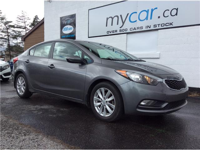 2015 Kia Forte 1.8L LX+ (Stk: 190503) in North Bay - Image 1 of 21