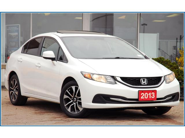 2013 Honda Civic EX (Stk: D93680AX) in Kitchener - Image 2 of 16