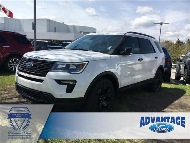 2019 Ford Explorer Sport (Stk: K-107) in Calgary - Image 1 of 5