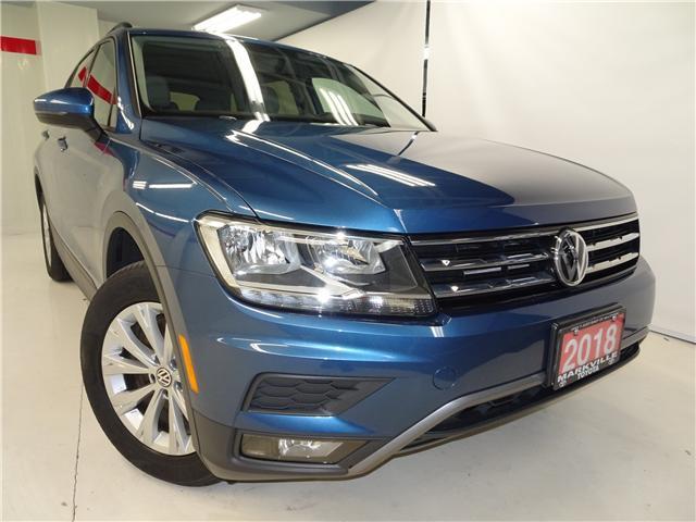 2018 Volkswagen Tiguan Trendline (Stk: 36209U) in Markham - Image 1 of 22