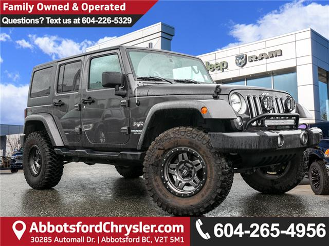2016 Jeep Wrangler Unlimited Sahara (Stk: K640588A) in Abbotsford - Image 1 of 23