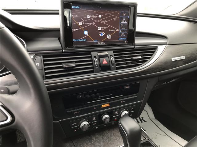 2018 Audi A6 3.0T Progressiv (Stk: 28114A) in Markham - Image 13 of 20