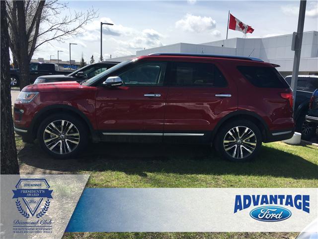 2019 Ford Explorer Platinum (Stk: K-249) in Calgary - Image 2 of 6