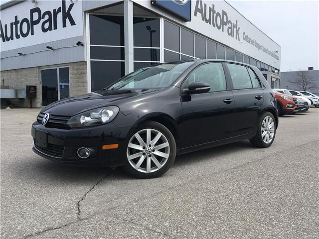 2012 Volkswagen Golf 2.0 TDI Highline (Stk: 12-02091MB) in Barrie - Image 1 of 25