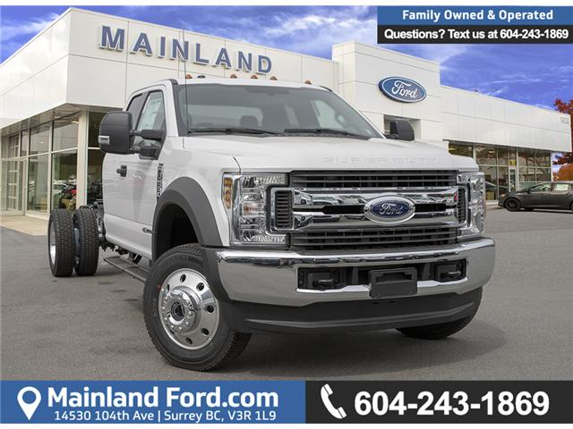 2019 Ford F-550 Chassis XLT (Stk: 9F58796) in Vancouver - Image 1 of 26
